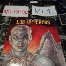 Cómics: DUFAUX LOS INFIERNOS TAPA DURA NORMA EDITORIAL. Lote 141509236
