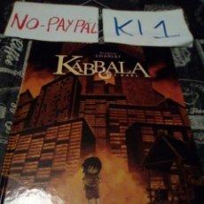 Cómics: KABBALA 1 GAEL NORMA EDITORIAL TAPA DURA. Lote 141510334