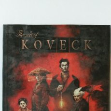 Cómics: THE ART OF KOVECK NORMA ED. Lote 141624846