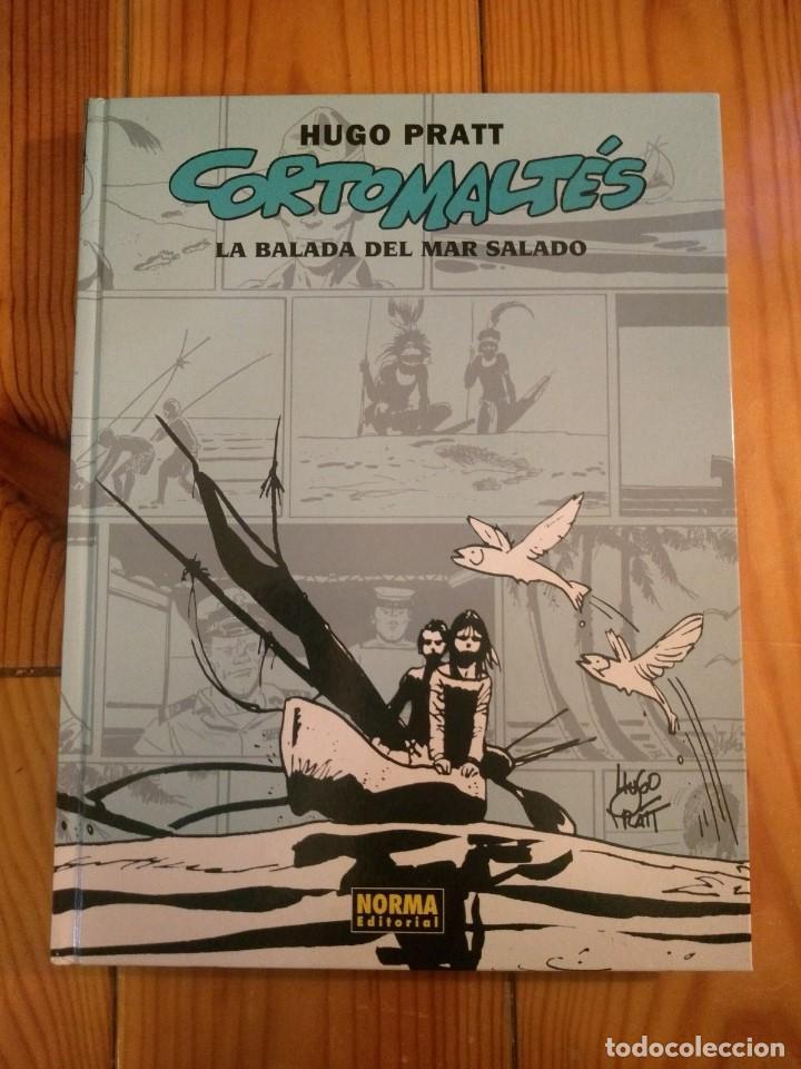 CORTOMALTÉS LA BALADA DEL MAR SALADO - HUGO PRATT - CORTO MALTÉS - EDICIÓN EN CARTONÉ 2006 - D3 (Tebeos y Comics - Norma - Comic Europeo)
