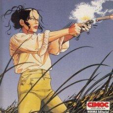 Cómics: CIMOC EXTRA COLOR Nº 24 - LOS PASAJEROS DEL VIENTO - LA HORA DE LA SERPIENTE - FRANCOIS BOURGEON. Lote 141713146