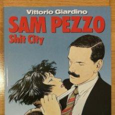 Cómics: VITTORIO GIARDINO SAM PEZZO SHIT CITY COLECCIÓN EL MURO Nº 10 NORMA ED.. Lote 142259094