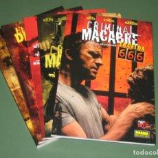 Cómics: CRIMINAL MACABRE - 5 TOMOS - (NORMA). Lote 142314170