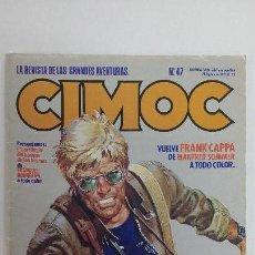Cómics: CIMOC Nº 47, 1985. EDITORIAL NORMA - BUEN ESTADO. Lote 142337590