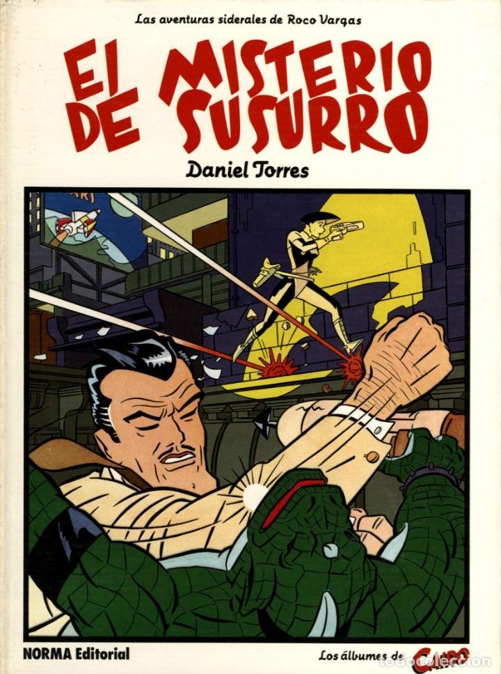 EL MISTERIO DE SUSURRO ( NORMA, 1985) DE DANIEL TORRES LOS ÁLBUMES DE CAIRO-8 TAPA DURA (Tebeos y Comics - Norma - Comic Europeo)