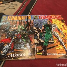 Cómics: TERMINATOR ANIQUILACION - NORMA 1991 - 1 AL 4 COMPLETA. Lote 142437818