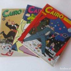 Cómics: 3 COMICS CAIRO. Lote 142690186