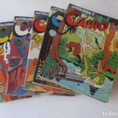 Cómics: 5 COMICS ANTOLOGIA CAIRO. Lote 142691290