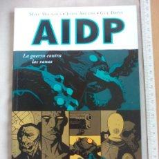 Comics : AIDP. 12. LA GUERRA CONTRA LAS RANAS. MIKE MIGNOLA JOHN ARCUDI, GUY DAVIS. NORMA EDITORIAL. COMIC. Lote 142729150