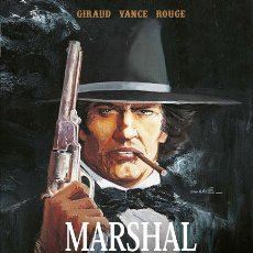 Cómics: CÓMICS. MARSHAL BLUEBERRY. EDICIÓN INTEGRAL - GIRAUD/WILLIAM VANCE/ROUGE (CARTONÉ). Lote 210976622