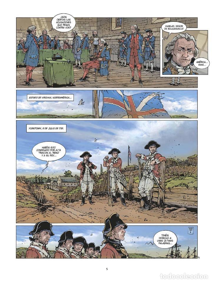 Cómics: Cómics. LAS GRANDES BATALLAS NAVALES 3. CHESAPEAKE - Jean-Ives Delitte (Cartoné) - Foto 4 - 142821358
