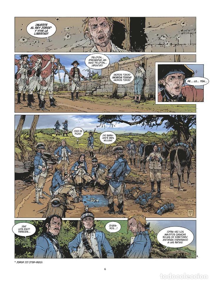 Cómics: Cómics. LAS GRANDES BATALLAS NAVALES 3. CHESAPEAKE - Jean-Ives Delitte (Cartoné) - Foto 5 - 142821358