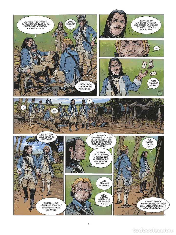 Cómics: Cómics. LAS GRANDES BATALLAS NAVALES 3. CHESAPEAKE - Jean-Ives Delitte (Cartoné) - Foto 6 - 142821358
