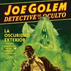 Cómics: CÓMICS. JOE GOLEM DETECTIVE DE LO OCULTO 2. LA OSCURIDAD EXTERIOR - MIGNOLA/GOLDEN/REYNOLDS/STEWART. Lote 143053290