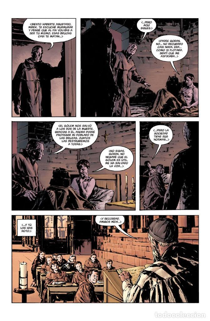 Cómics: Cómics. JOE GOLEM DETECTIVE DE LO OCULTO 2. LA OSCURIDAD EXTERIOR - Mignola/Golden/Reynolds/Stewart - Foto 3 - 143053290