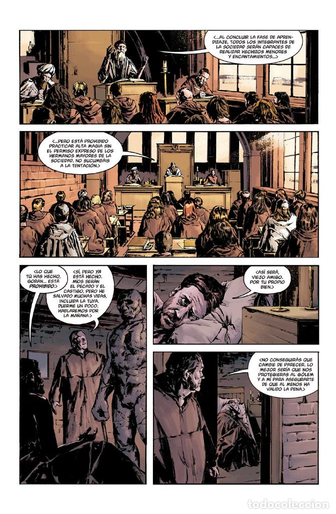 Cómics: Cómics. JOE GOLEM DETECTIVE DE LO OCULTO 2. LA OSCURIDAD EXTERIOR - Mignola/Golden/Reynolds/Stewart - Foto 4 - 143053290