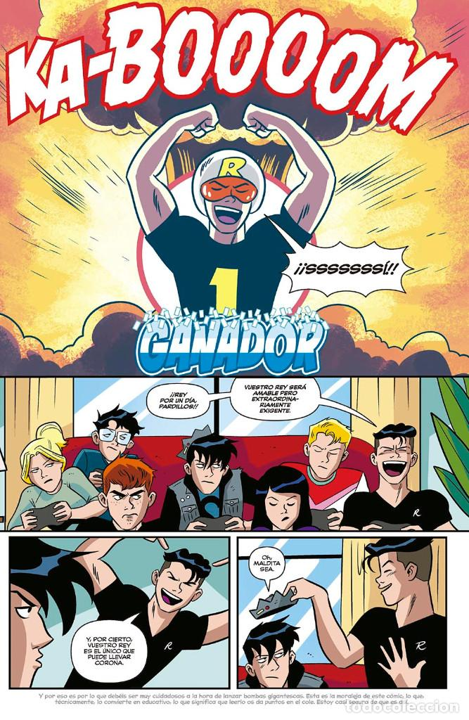 Cómics: Cómics. JUGHEAD 3 - Ryan North/Mark Waid/Ian Flynn/Derek Charm (Cartoné) - Foto 3 - 143053658