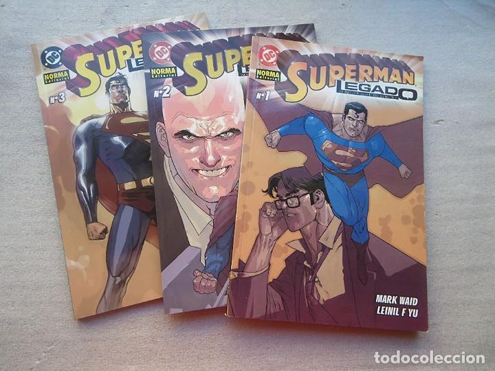SUPERMAN LEGADO 3 TOMOS COMPLETA NORMA 2004(DESC.55%) (Tebeos y Comics - Norma - Comic USA)