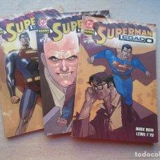 Cómics: SUPERMAN LEGADO 3 TOMOS COMPLETA NORMA 2004(DESC.55%). Lote 143057198