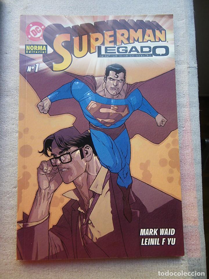 Cómics: SUPERMAN LEGADO 3 TOMOS COMPLETA NORMA 2004(DESC.55%) - Foto 3 - 143057198