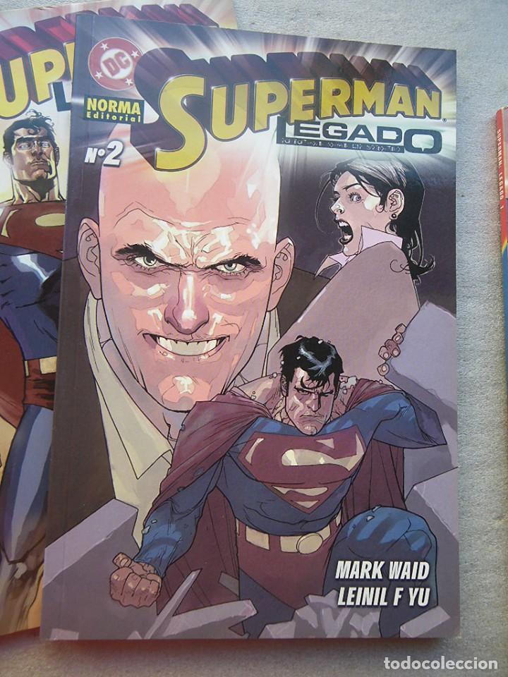 Cómics: SUPERMAN LEGADO 3 TOMOS COMPLETA NORMA 2004(DESC.55%) - Foto 4 - 143057198