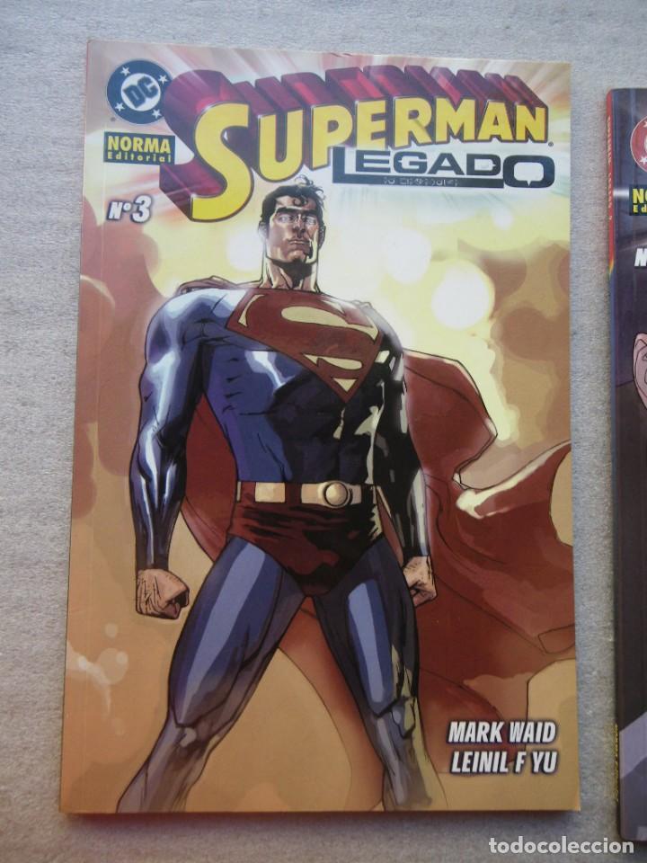 Cómics: SUPERMAN LEGADO 3 TOMOS COMPLETA NORMA 2004(DESC.55%) - Foto 5 - 143057198