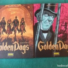 Cómics: GOLDEN DOGS COMPLETA 2 INTEGRALES NORMA EDITORIAL. Lote 143144330