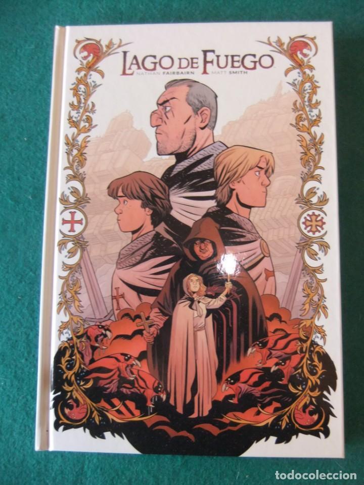 LAGO DE FUEGO UN TOMO COMPLETA NORMA EDITORIAL (Tebeos y Comics - Norma - Comic Europeo)