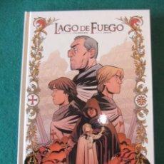 Cómics: LAGO DE FUEGO UN TOMO COMPLETA NORMA EDITORIAL. Lote 143144734