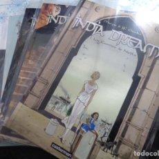 Cómics: INDIA DREAMS COMPLETA 4 TOMOS NORMA EDITORIAL. Lote 143194978