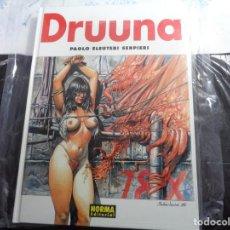 Cómics: DRUUNA 2 SERPIERI NORMA EDITORIAL . Lote 143206022
