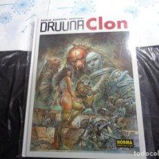 Cómics: DRUUNA CLON SERPIERI NORMA EDITORIAL . Lote 143206518