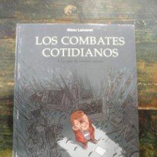 Cómics: LOS COMBATES COTIDIANOS 3. LO QUE DE VERDAD CUENTA; MANU LARCENET; NORMA, 2006; 9788498147100. Lote 143259182
