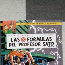 Cómics: BLAKE Y MORTIMER: LAS 3 FÓRMULAS DEL PROFESOR SATO: VOL. 2. Lote 143266566