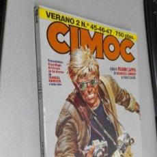 Cómics: CIMOC VERANO 2 / RETAPADO CON LOS NÚMEROS 45, 46, 47, / NORMA EDITORIAL. Lote 143268678