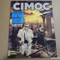 Cómics: CIMOC. ESPECIAL N. 10 NUEVOS DIOSES. ED. NORMA. Lote 143539954