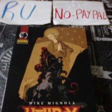 Cómics: MIKE MIGNOLA HELLBOY EL GUSANO VENCEDOR NORMA EDITORIAL. Lote 143583304