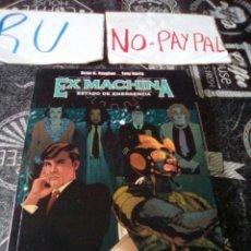 Cómics: EX MACHINA ESTADO DE EMERGENCIA TOMO 1 NORMA EDITORIAL. Lote 143584404