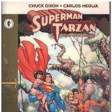 Cómics: SUPERMAN TARZAN. HIJOS DE LA JUNGLA. DOLMEN EDITORIAL. OBRA COMPLETA. Lote 194763428