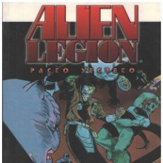 Cómics: ALIEN LEGION. TOMOS 1 Y 2. DOLMEN. 360 PAGINAS. COLOR. RUSTICA. Lote 143711002