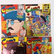 Cómics: CAIRO COLECCIÓN COMPLETA,75 EJEMPLARES CON ESTUCHES. Lote 143819122