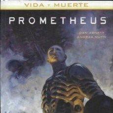 Cómics: VIDA Y MUERTE Nº 2 PROMETHEUS - NORMA - CARTONE - IMPECABLE - OFI15T. Lote 143820086