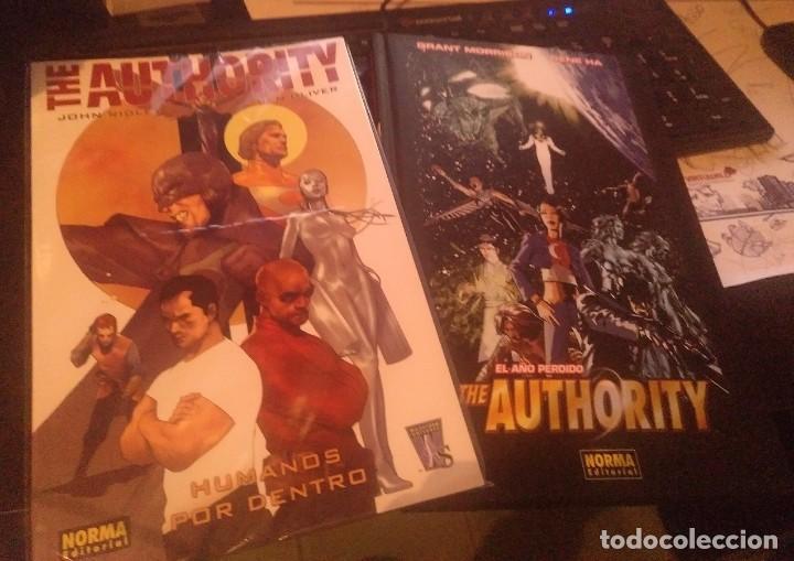 THE AUTHORITY: EL AÑO PERDIDO + THE AUTHORITY: HUMANOS POR DENTRO (NORMA) (Tebeos y Comics - Norma - Comic USA)