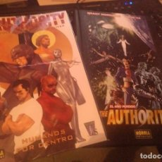 Cómics: THE AUTHORITY: EL AÑO PERDIDO + THE AUTHORITY: HUMANOS POR DENTRO (NORMA). Lote 143860198