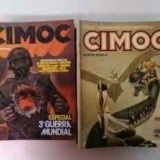 Cómics: CIMOC,NORMA COMICS 38 EJEMPLARES. Lote 143920830