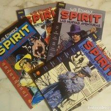 Cómics: AVENTURAS DE SPIRIT - NºS 1 AL 4 - DE EISNER Y OTROS (COLECCIÓN COMPLETA). Lote 143946458