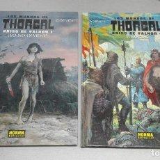 Cómics: LOS MUNDOS DE THORGAL. KRISS DE VALNOR NÚMEROS 1 Y 4 / Y. SENTE - G. DE VITA / NORMA EDITORIAL. Lote 144073034