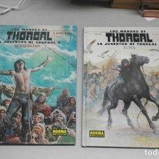 Cómics: LOS MUNDOS DE THORGAL. LA JUVENTUD DE THORGAL NÚMEROS 3 Y 4 / YANN - R.SURZHENKO / NORMA EDITORIAL. Lote 144073142