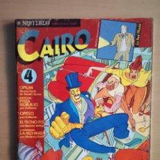 Cómics: COMIC REVISTA CAIRO Nº4, DE NORMA EDITORIAL. Lote 144223046