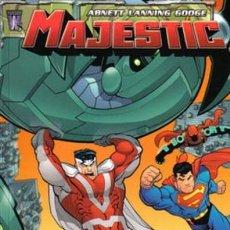 Cómics: MAJESTIC -1 AL 4 COMPLETA -ABNETT·LANNING·GOOGE. Lote 144556978